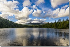 Mount Hood at Trillium Lake_