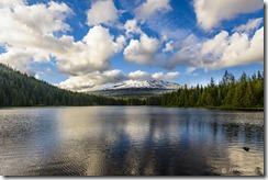 Mount Hood at Trillium Lake_